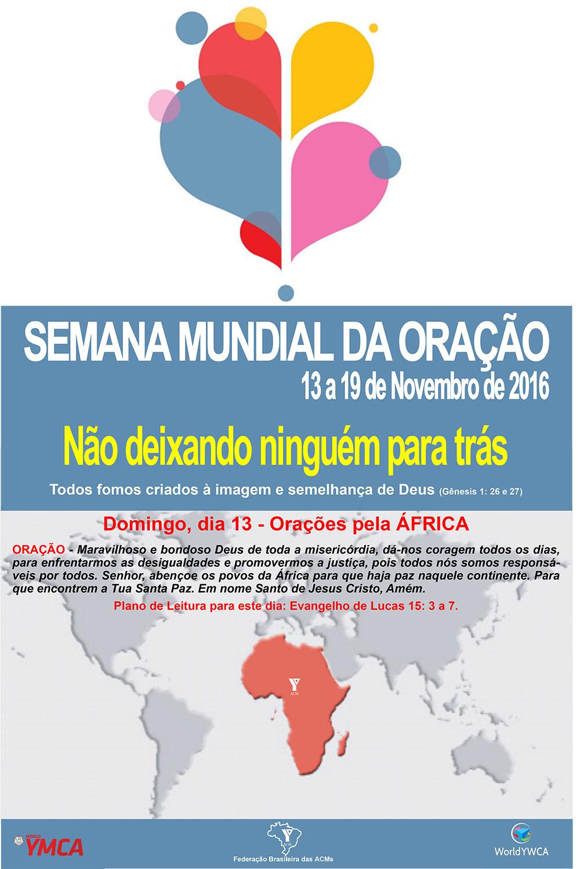 SemanaOração2016 13-11-2016