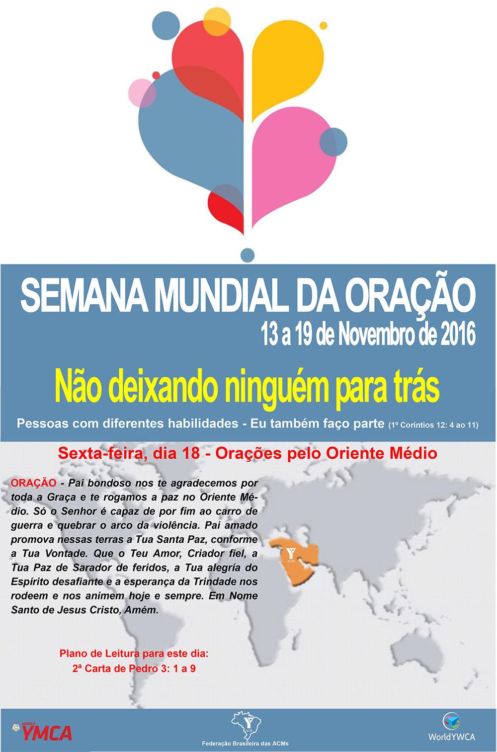 SemanaOração2016 18-11-2016