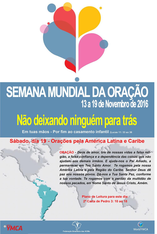 SemanaOração2016 19-11-2016