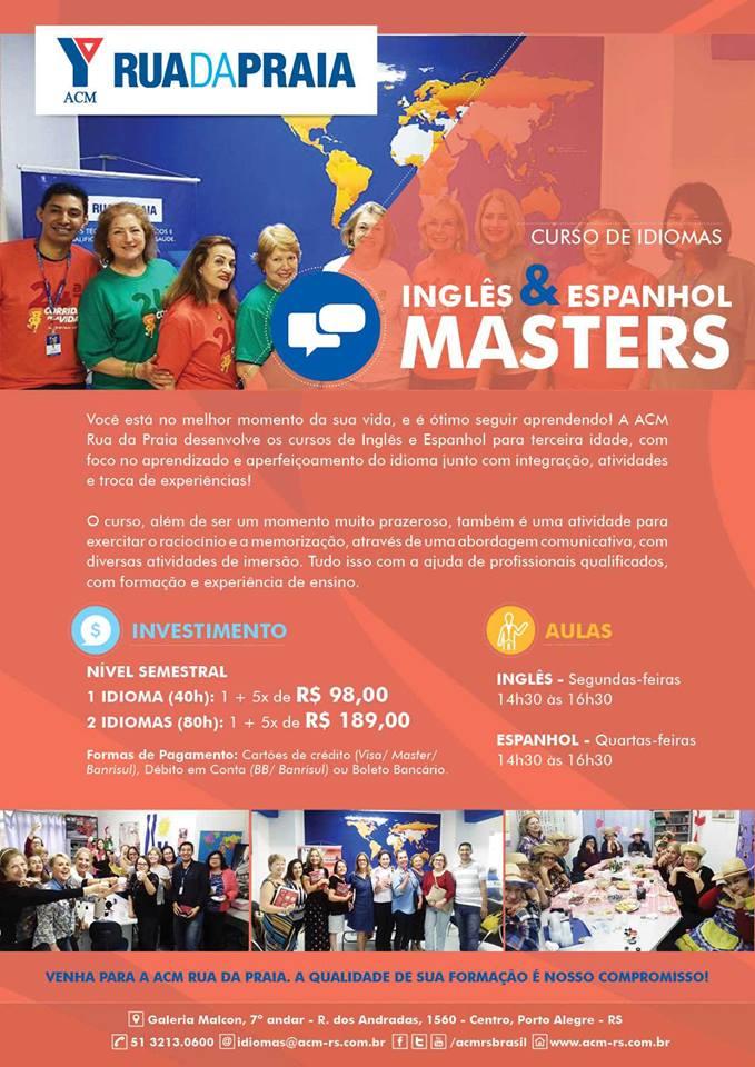Cartaz Masters 2018