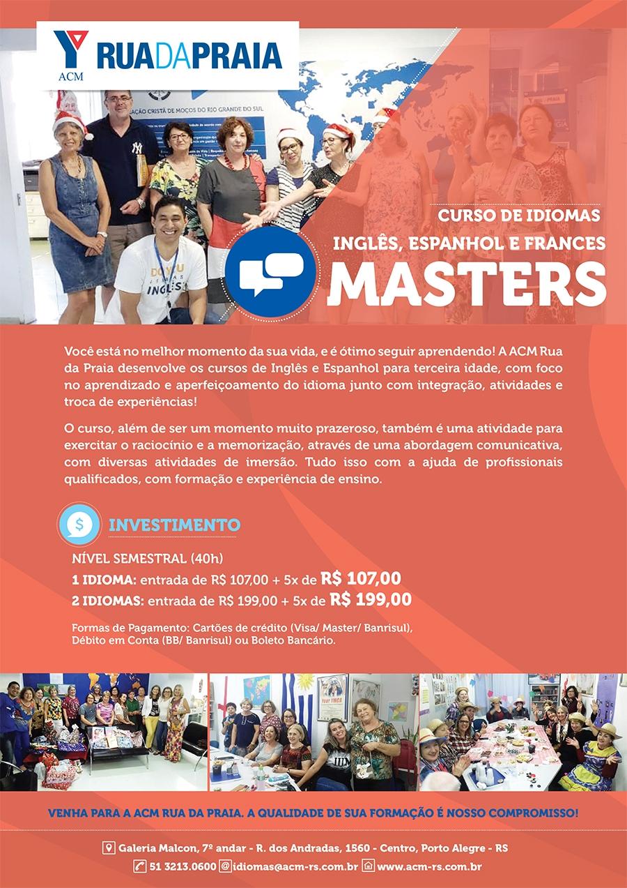cartaz Masters 2019