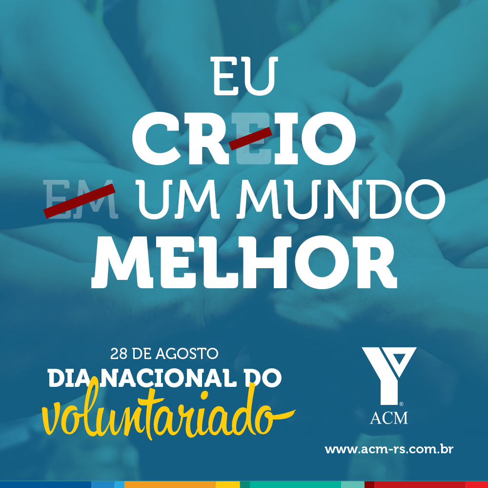Dia Nacional do Voluntariado - WEB